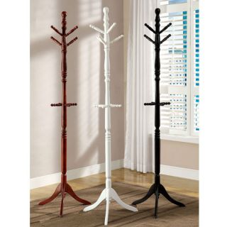Solid Wood Constructed Traditional Style Hanging Coat Rack Hanger
