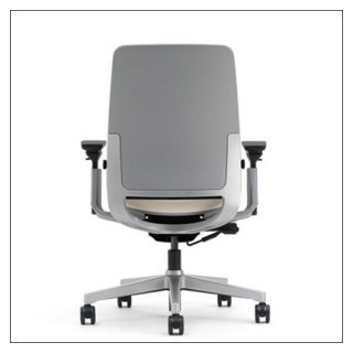 Steelcase Amia R Work Chair Available in 12 Colors Aluminum Base