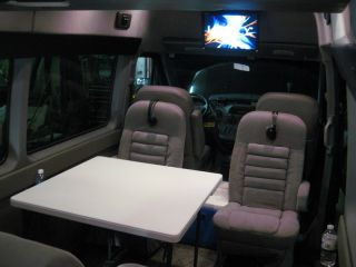 Sprinter RV by Pleasure Way Plateau TS Mercedes Benz Diesel Limousine Dodge Limo