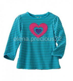 Jumping Beans Toddler Girl Clothes Long Sleeve Graphic Tee Shirt Top 2T 3T