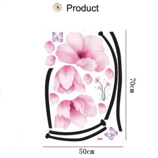 High Quality Flower Removable Wall Stickers Decor Home Girls Bedroom Art