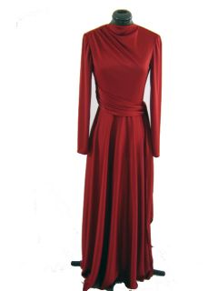 Beautiful Vintage 70s Emma Domb Evening Dress