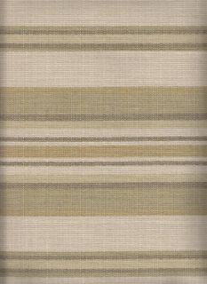 Discount Upholstery Fabric Grey Green Gold Striped CLEARANCE Fabric