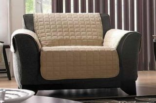 Quilted Micro Suede Pet Dog Kids Furniture Couch Protector