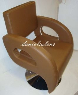 Brand New Brown Styling Barber Chair Salon Beauty Hair Equipment Supplies
