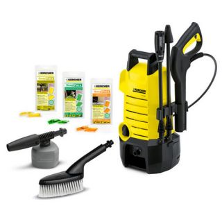 Karcher K2150 1500 PSI Electric Cold Water Residential Grade Pressure Washer Wit
