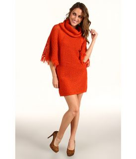 Jessica Simpson Turtleneck Poncho Sweater Dress SKU #8118149