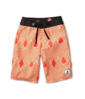 Volcom Kids 45th St Boardshort Big Kids Pink Strobe