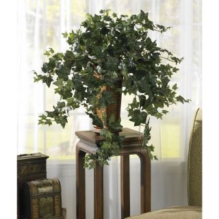 "34"" Artificial Vining Puff Ivy Decorative Vase Home Office Decor Faux Fake Plant"