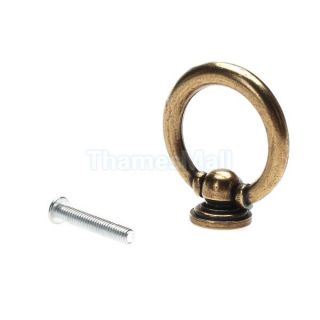 Drop Ring Pull Knob for Furniture Hardware Cabinet Drawer Dresser Jewelry Box