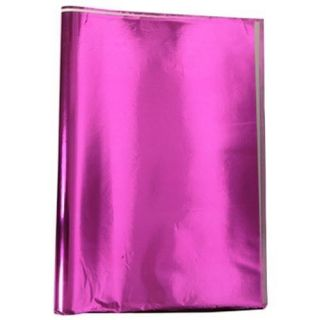 Fuchsia Metallic Mylar Gift Wrap 18in x 30in Party Supplies 5 Sheets