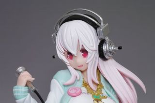 Taito Anime Super Sonico Cranking Sexy Rock Star Sexy Girl Figure Japan