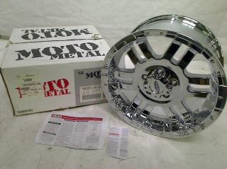 "Moto Metal Series MO951 Chrome Wheel 18x9"" 5x5"""