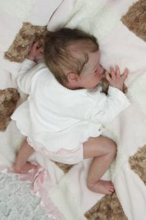 Newborn Reborn Baby Girl Doll Will by Natalie Scholl Limited Edition