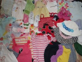 37P Gap Gymboree Dress Skirt Baby Girl 12 18 Month Spring Summer Clothes Lot 19