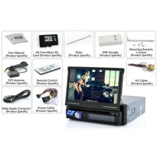 "1 DIN Android Car DVD Player ""Road Patronage"" 7 inch Screen 3G WiFi Bluetooth"