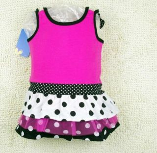 Girl Minnie Mouse Top Princess Dress Shirt 1 5Y Party Costume Skirt Tutu Outfit