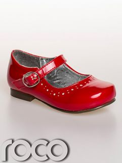 Girls Red Flower Girl Shoes Baby Girls Red Shoes Girls Formal Shoes Inf 1 8
