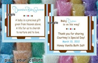 Blue Baby Shower Favors