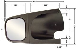 Cipa 10500 1 Pair of Custom Towing Mirrors for Dodge RAM Dakota Durango