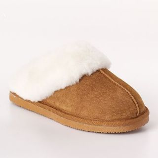 Brand New Sonoma Life Style Suede Shearling Clogs Slippers