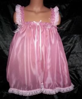 Custom Made Adult Sissy Green Night Gown Babydoll Feminine Womens Mens TV Sexy