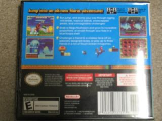 Used The New Super Mario Brothers Nintendo DS Game Bros Used But in Case