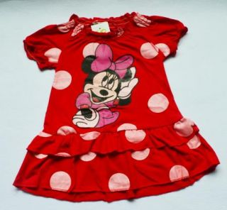 Girls Minnie Mouse Kids Dots Top Dress Pants Leggings Sets 1 5Y Summer Outfit