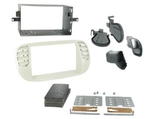 Fiat 500 2008 Car CD Stereo Double DIN Ivory Fascia Panel Fitting Kit CT23FT14