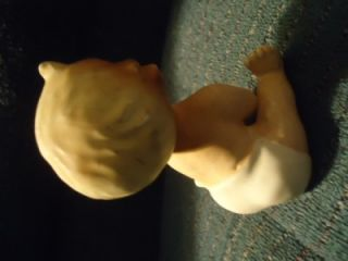 Wide Eyed Baby Norcrest Signed Small Kewpie 1950