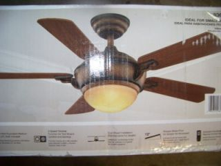"Hampton Bay MIDILI 44"" Indoor Ceiling Fan New No Glass"