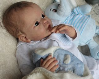 Reborn Baby Boy Doll Misha by Linda Murray Sculpt  3 Day Auction