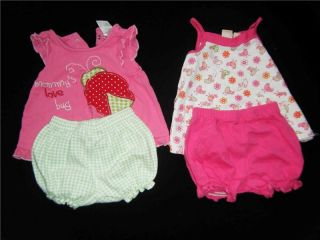 Lot 51 Piece Infant Baby Girl Newborn 0 3 3 6 Months Spring Summer Clothes M NB