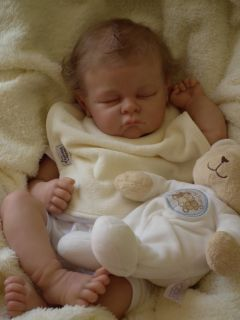 Baby Sunshine Nursery Reborn Baby Boy Doll Andi by Linda Murray The Cradle
