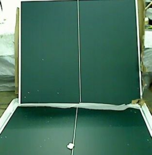 Trademark Innovations Premium Ping Pong Table Portable with Net