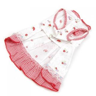 WOW So Cute Sweet Pet Dog Puppy Clothes Princess Dress