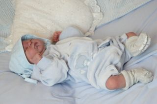 Newborn Reborn Baby Boy Doll Julian by Elisa Marx Full Torso