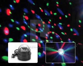 New LED Stage Lighting RGB Crystal Magic Ball Light KTV Party Disco DJ Lamp