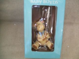 New in Box's 3 Boyds Bears Gertie Giraffe Resin Picture Holder Frame Resin