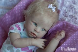 Bitsy Bundles Reborn Krista Beautiful RARE Baby Girl Doll by Linda Murray