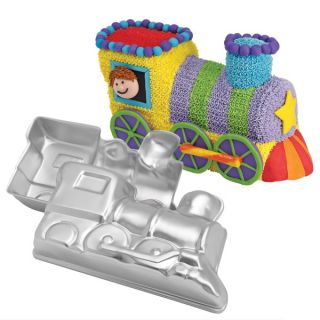 Wilton Choo Choo 3D Train Thomas Tank Engine Birthday Cake Pan Tin Mold Mould