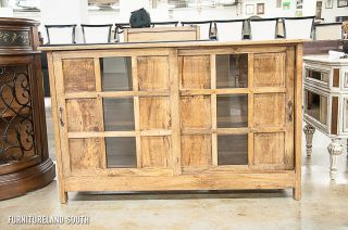Butler Specialty Co Artifacts 2 Door Wood Glass Display Cabinet