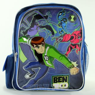 "12"" Ben 10 Ultimate Alien Fight Small Toddler Backpack Book Bag Boys School"