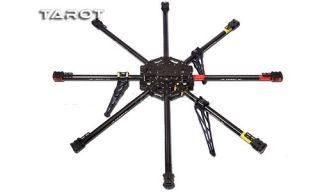 F04765 Tarot Iron Man 1000 8 Rotor Axis Aircraft Copter Carbon Fiber Frame Kit