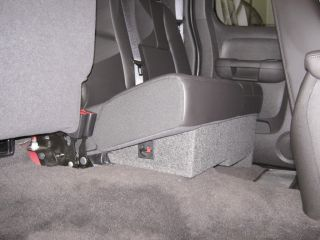 2009 Chevy Silverado Ext Cab Sub Box w Rockford 10""