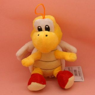 Super Mario Bros Red Koopa Troopa Plush Doll Paratroopa Stuffed Toy 7""