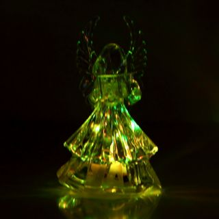 Color Changing Angel LED Light Night Lamp Christmas Decoration Gift He