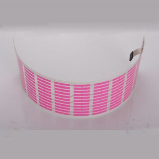 "Car Stickers Sound Music Activated Sensor Pink LED Light Equalizer Glow 18"" 12V"