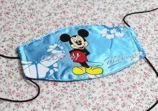 New Cute Blue Disney Micky Face Masks Facial Masks Kids' Boys' Girls'