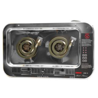 Larson 0321557 Origo 4300E 120 Volt Two Burner Electric Alcohol Boat Stove